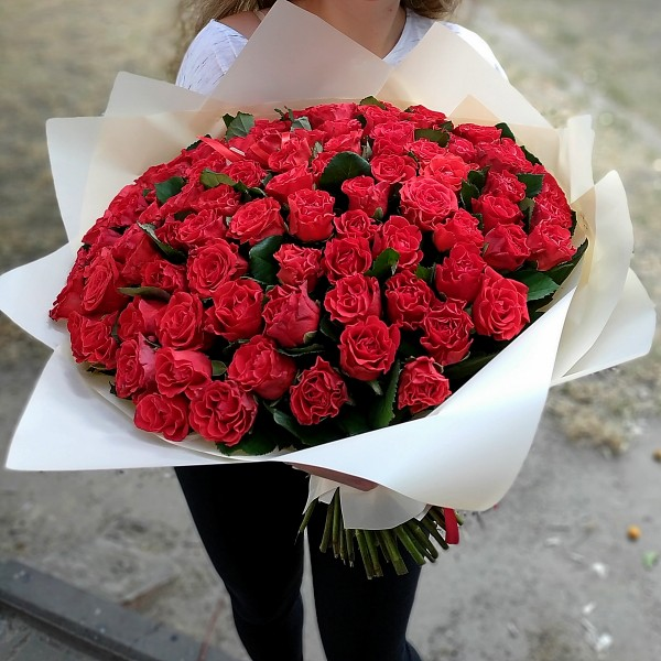 Bouquet 101 red roses Eltoro