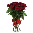 Bouquet of 15 burgundy roses Grand Prix