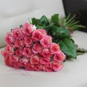 Bouquet of 25 pink roses