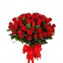 Bouquet 51 red roses Eltoro