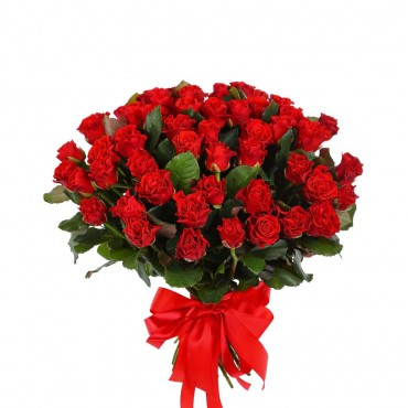 Bouquet 51 red roses Eltoro