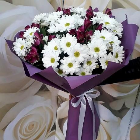 Bouquet of alstromer...