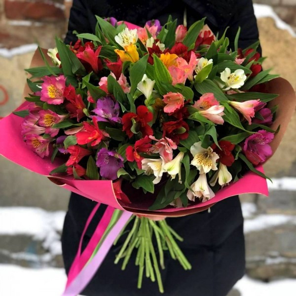 Bouquet Alstroemeria mix