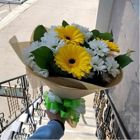 Bouquet of gerberas ...