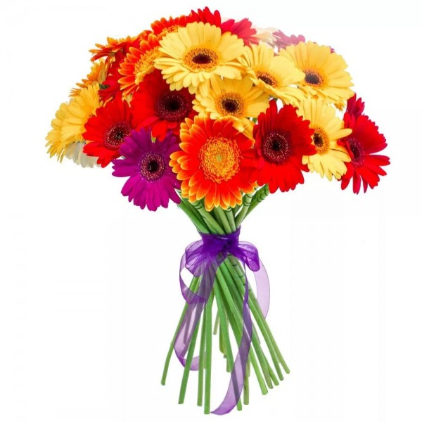 Bouquet of 15 gerberas mix