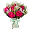 Bouquet Kiss - orchids and roses